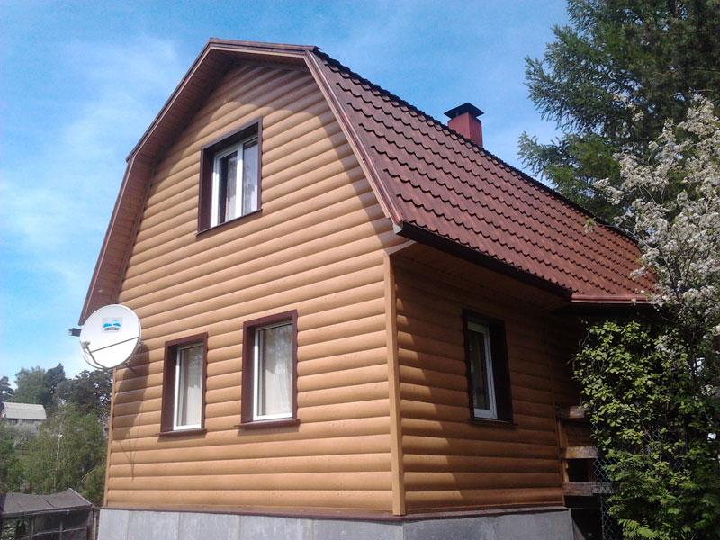 Штукатурка и отделка фасадов частного дома